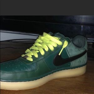 Green airforce 1's